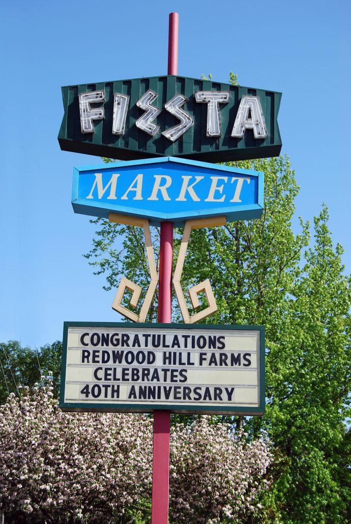 Fiesta market congratulates Redwood Hill Farm on 40th Anniversary